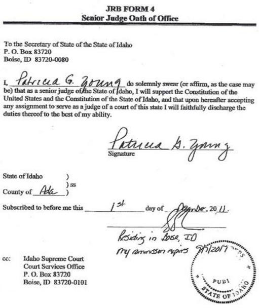 IDAHOCorruptCourt SystemFraud - Idaho legal forms
